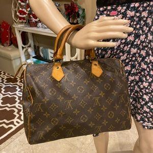 Authentic Louis Vuitton Hand Bag Speedy 30
